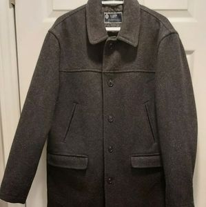 J.CREW Button Down 100% Wool Black University Jack